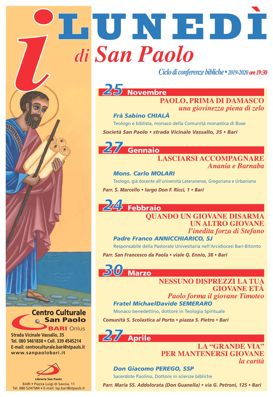 Conferenze (I lunedì di San Paolo)